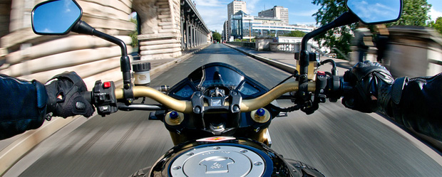 course à moto paris
